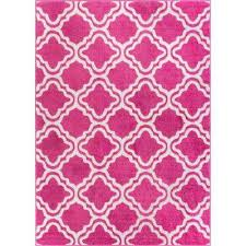 starbright calipso pink 8 ft x 11 ft kids area rug