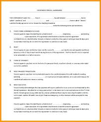 Commercial Lease Agreement Sample Delectable Lease Agreement Template Ga Free Sample Lease Agreement Lease