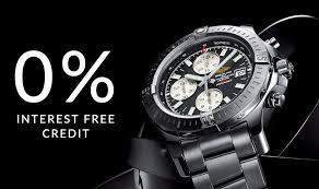 luxury swiss watches goldsmiths interest credit
