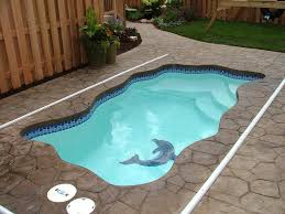 Fiberglass Swimming Pool Designs Simple Decoration