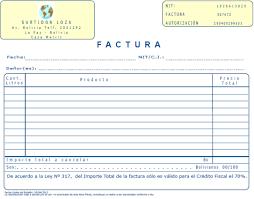 Formatos De Factura Rnd 10 0040 12 Bolivia Impuestos Blog