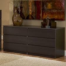 espresso 6 drawer dresser. 6 Drawer Dresser Espresso Awesome Contemporary Design Brown Lacquered Rectangle Wooden Cabinet Generous Storage Space Compartment C