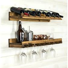 wall mounted wine cabinets 2 piece 8 bottle wall mounted wine rack set wall mounted wine rack bottle and glass holder shelf