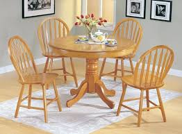 round wood kitchen table glass tables wallpaper dining set l alluring for 4 seater design stunning