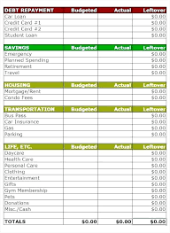 Household Budget Sample Worksheet Easy Family Budget Worksheet Biweekly Budget Template 48
