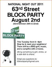 Neighborhood Party Invitation Wording Block Party Invitation Wording Template Flyer 2 Relod Pro