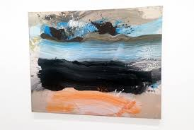 a painting by the african american abstract expressionist painter ed clark at jack tilton gallery new york here for more information