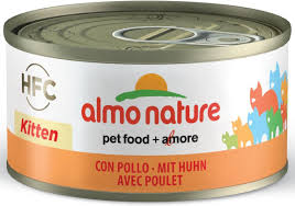 <b>Консервы</b> Для котят <b>Almo Nature Legend</b> HFC Kitten Chicken 70 гр ...