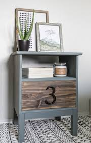 Diy ikea tarva Mid Century Give This Basic Ikea Nightstand An Easy Modern Makeover In Just Few Hours Following The Cherished Bliss Ikea Tarva Nightstand Hack An Easy Tutorial Cherished Bliss