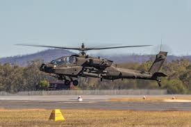 Central Queensland Plane Spotting Final Us Army Boeing Ah 64e