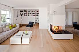Offenes Wohn Esszimmer Mit Kamin Schöpker Holz Wohn Form Gmbh