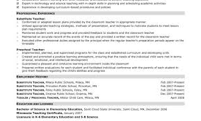 Preschool Teacher Assistant Job Description Resume For Image