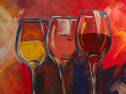 pictures painting and wine cl drawing art gallery
