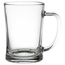 Высокая пивная <b>кружка</b> МЬЁД - прозрачное стекло - IKEA
