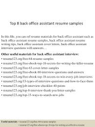 office manager resume sample job assistant front description cash top 8 back office assistant resume samples resume for front office job resume for office job