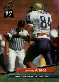 1992 Ultra Football Card #432 Aaron Pierce RC | eBay