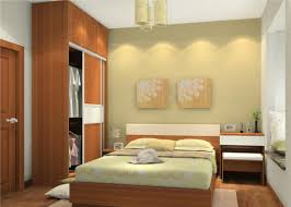 3D Interior Design Simple Bedroom Wallpaper