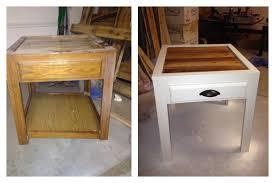 redoing furniture ideas. Side Table Refurbish. Redoing FurnitureRefurbished FurnitureFurniture IdeasReuse Furniture Ideas