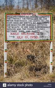 Plateau De Zomba Malawi Citation De Lempereur Hailé Sélassié D