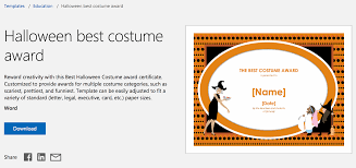 Word Halloween Templates 12 Free Halloween Themed Templates For Microsoft Word