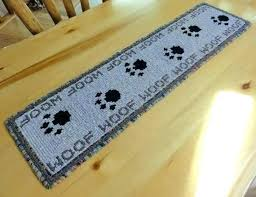 s paw print rug throw paw print rug uk