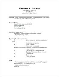 Resume Starter Sample Example 18109 Ifest Info Examples For Jobs