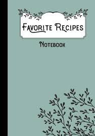 Favorites Recipes Notebook Lovable Books 9781794098145