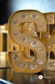 Gold Marquee Lights DIY #HSMarqueeLove