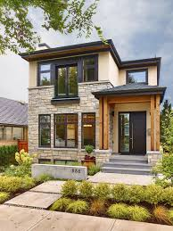 home exterior designer. real life rooms: a modern exterior curb appeal update home designer