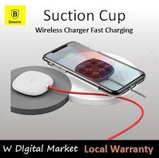 <b>Baseus</b> Suction Cup Wireless Charger Fast Charging/ <b>Mushroom</b> ...
