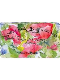 <b>Мыло</b> Цветочные Ноты: <b>Fiori</b> Di Campo / Полевые Цветы, 100 г ...