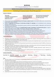 Mba Marketing Resume Format New Mba Marketing Experience Resume