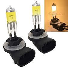 898 Fog Light Bulb Mega Racer 894 862 881 886 896 898 Hyper Yellow 3000k Xenon Halogen Headlight Fog Light Lamp Bulb Dot Replace