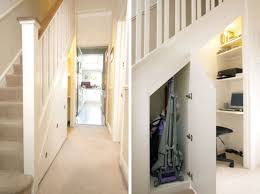 office under stairs. Furniture, Storage With Door Combined Small Office Under Stairs Ideas ~ 50 Hallway