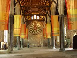 photgraph of winchester castle great hall winchester hampshire
