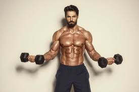 build a six pack at home in three weeks with dumbbells