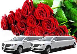 Rose Limosine Boston Wedding Limo Service Limousine Wedding Service Ma