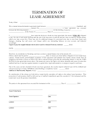 Apartment Rental Agreement Sample Gallery Of Best Photos Of Tenant Termination Of Lease Agreement 16