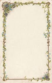 antique frame border. Frame Digital Flower Botanical Border Antique