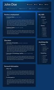 great html cv resume templates   template   idesignowprofessional online resume
