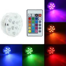 Extra Bright Night Light Us 4 42 7 Off Led Night Light Rgb Submersible Light With Super Bright Leds With Remote Batteries Powered For Holiday Party Garden Pool Vase In Night