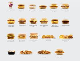 Mcdonalds Breakfast Menu Nutrition Chart The Entire Mcdonalds Breakfast Menu Ranked Mcdonalds