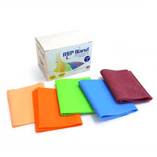Rep Band Resistive Exercise Band 18 Peach Extra Light
