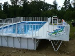 square above ground pool with deck. 228 Best Ground Pool Decks Images On Pinterest Kayak Above Pools Square With Deck S