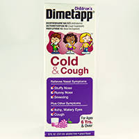 Childrens Dimetapp Cold Cough Dosage Rx Info Uses