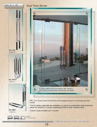prl s commercial door dual tone pull handles can be used on glass doors and full framed