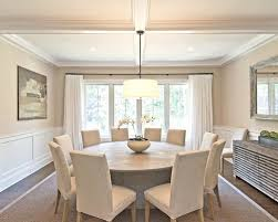 houzz dining room lighting. Example Of A Classic Dark Wood Floor And Brown Dining Room Design In New York Houzz Lighting C