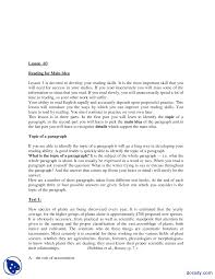 Part 2 Reading For Main Idea Business Communication And English
