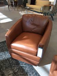 Leather Swivel Chairs For Living Room Ford Swivel Chair 1499 Room And Board Living Room Leather