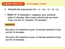 guided practice for examples 4 and 5 6 simplify the expression 5 6